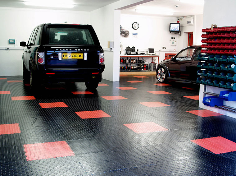 Bodenbeläge für Garagen