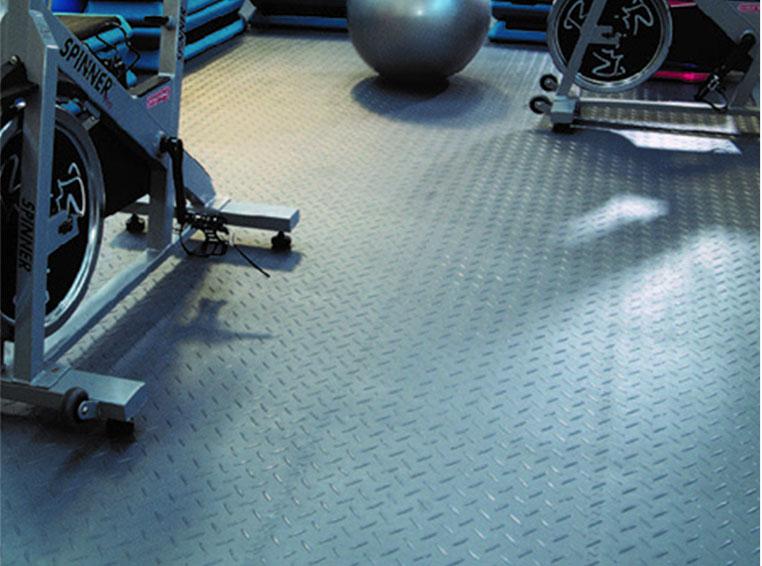 Bodenbeläge für Fitnessstudios