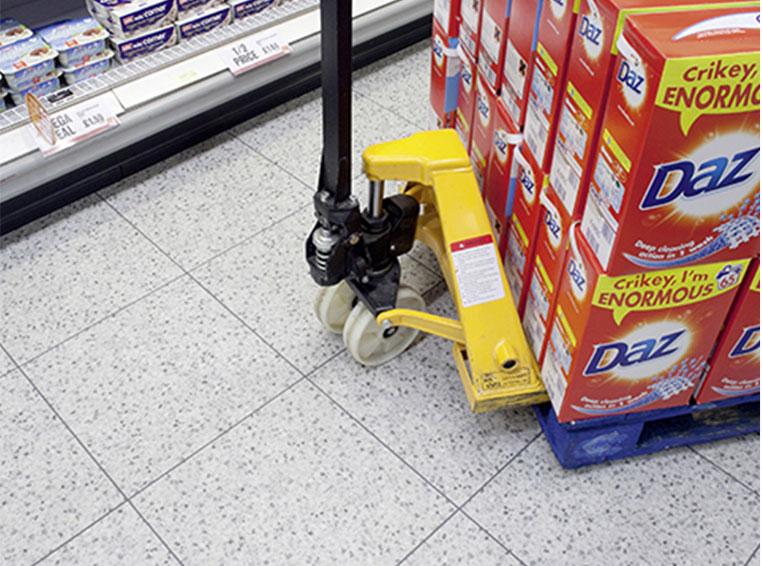 Bodenbeläge für den Einzelhandel